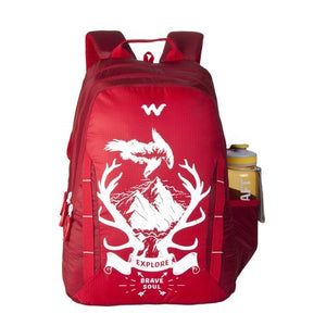 Wildcraft WC 6 Wild Explore Red Laptop Bag
