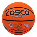 Cosco Dribble Basket Balls (Orange) Size 5