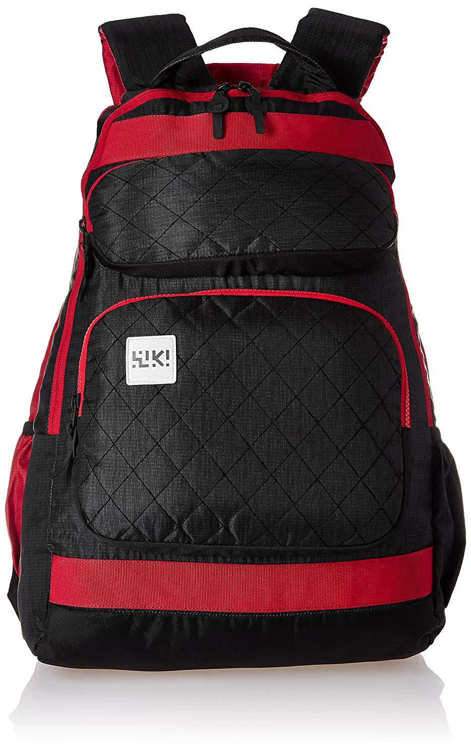 Wildcraft Toss Red/Black Reversible School Bag