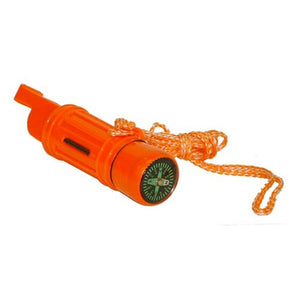 Coleman 5-in-1 Survival Whistle (Orange) - Ayudh Sports LLP  - 1