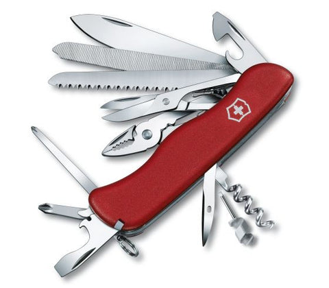 Victorinox Work Champ Red Swiss Army Knife (0.9064) - Ayudh Sports LLP