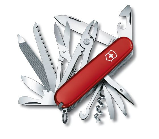 Victorinox Handyman Red Swiss Army Knife (1.3773) - Ayudh Sports LLP