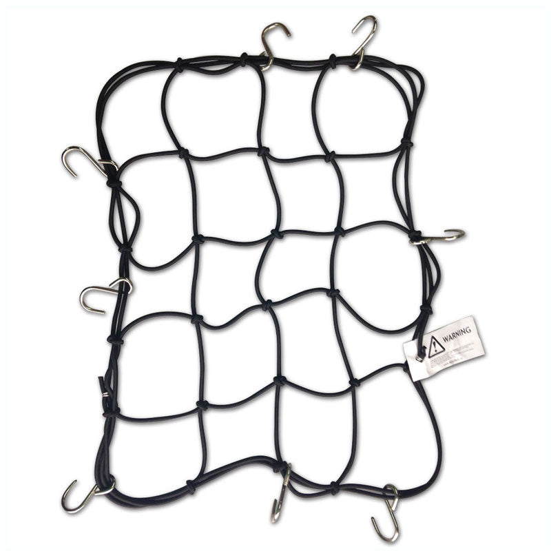 Mototech Metal Hook Bungee Net - 4mm - Ayudh Sports LLP  - 1