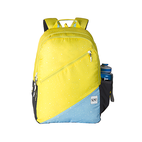 Wildcraft Wiki 3 Spray Neon School Bag