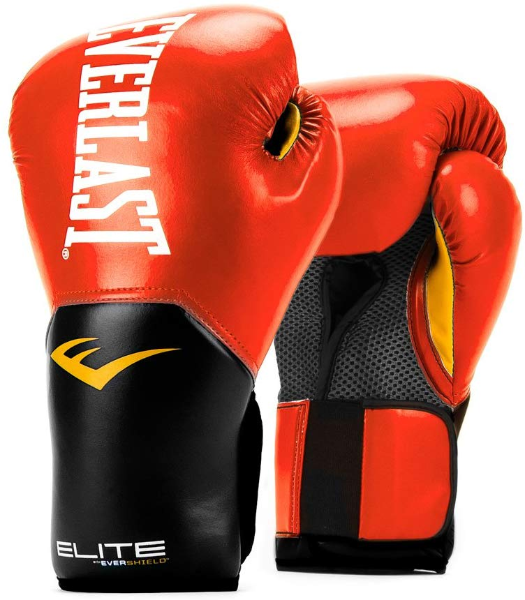 Everlast Pro Style Elite V2 Training Boxing Gloves - Red