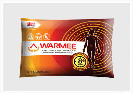Warmee WAR/REG/6 Handy Self Heating Pouch Pack - Ayudh Sports LLP