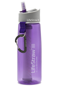 Lifestraw Water Bottle With 2 Stage Filtration Voilet - Ayudh Sports LLP  - 1