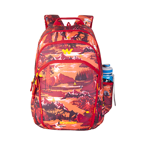 Wilcraft WC 2 Outdoor Dark School Bag