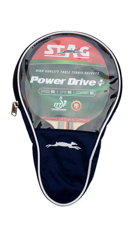 Stag Power Drive Table Tennis Racquet with Case - Ayudh Sports LLP  - 1