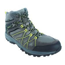 Quipco Kanamo Waterproof Hiking Shoes - Unisex Charcoal (Size Options Available) - Ayudh Sports LLP  - 1