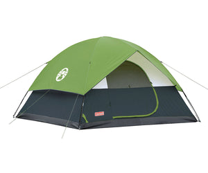 Coleman Sundome 6 Person Tent Green