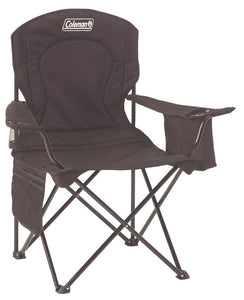 Coleman Quad Chair with Cooler Black