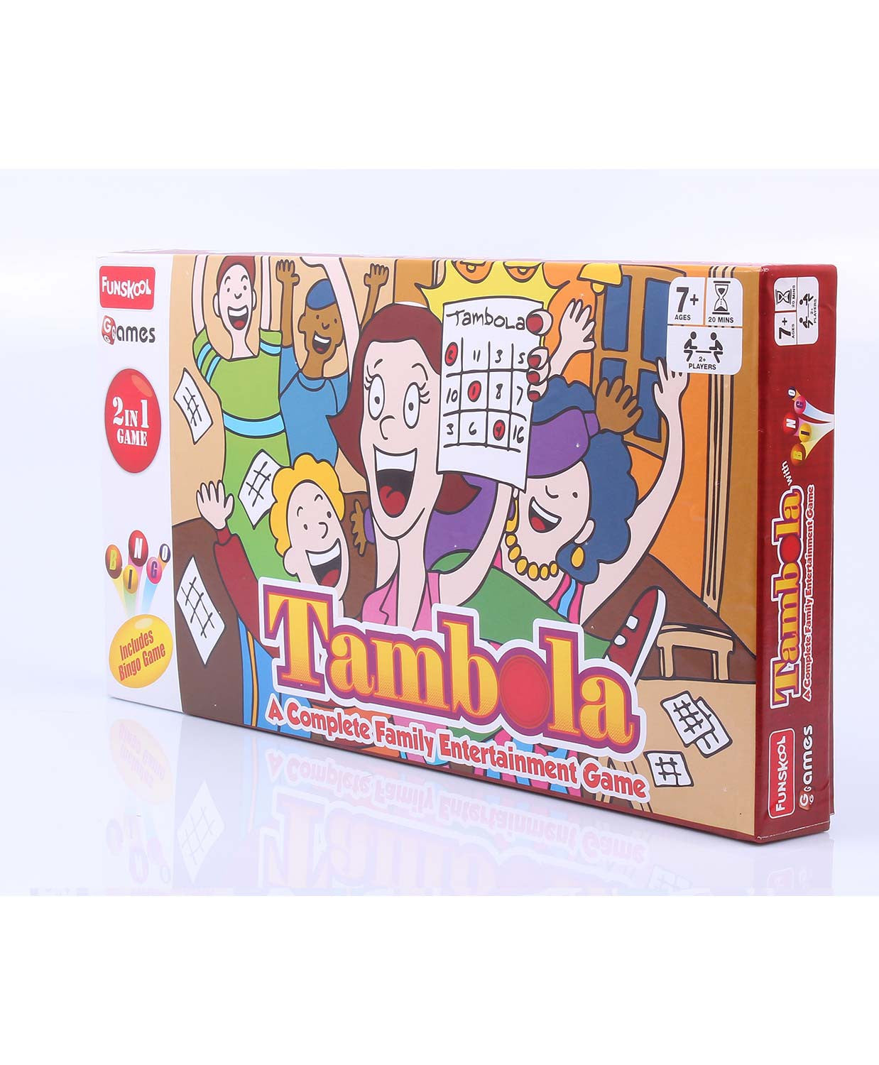 Funskool Thambola 2 In 1 Game 2013