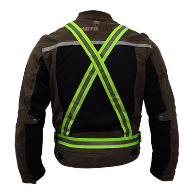 Quipco Flash Hi Viz Suspenders - Ayudh Sports LLP  - 2