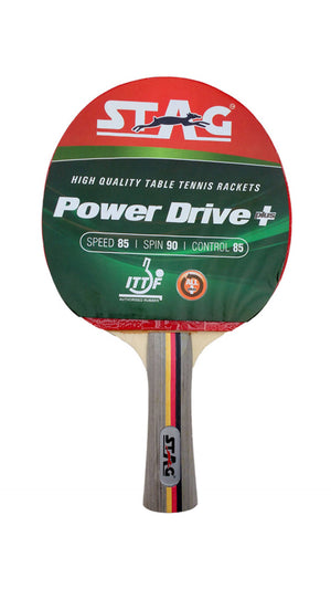 Stag Power Drive Table Tennis Racquet with Case - Ayudh Sports LLP  - 2