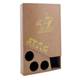 Stag Case With Wooden Box (Multicolour) - Ayudh Sports LLP  - 2