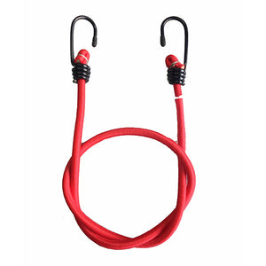 "MOTOTECH Root Bungee Tie Down - 6mm - Red - 24""-60cms (Pack Of Two) - Ayudh Sports LLP"