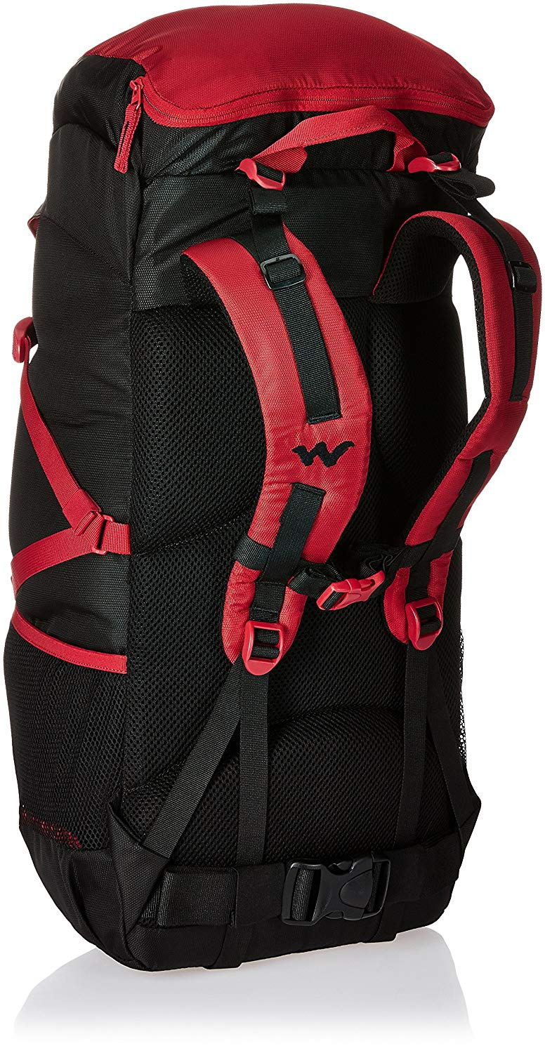 Wildcraft Verge 45 Red Rucksack
