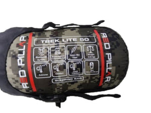 Red Pillar Trek Lite 50 Sleeping Bag - Ayudh Sports LLP  - 2