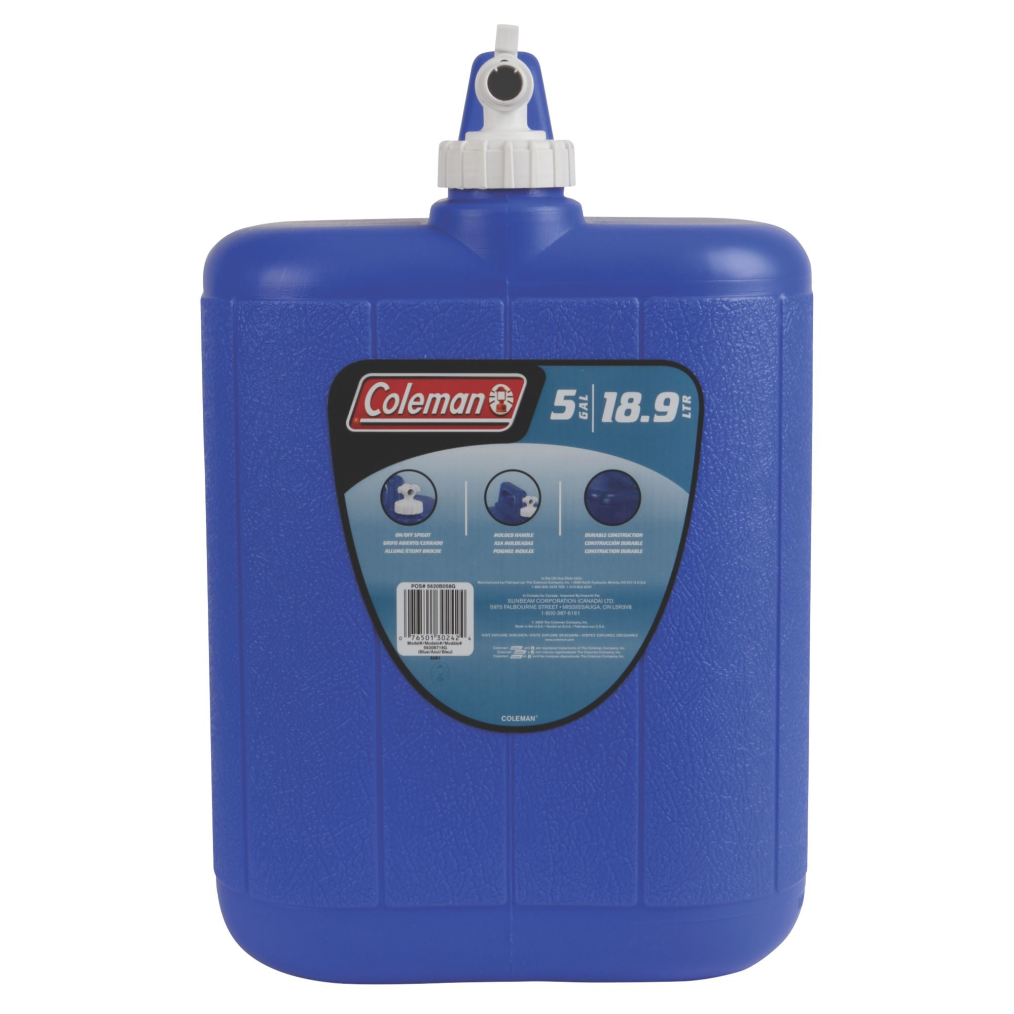 Coleman Water Carrier (Blue) - Ayudh Sports LLP  - 2