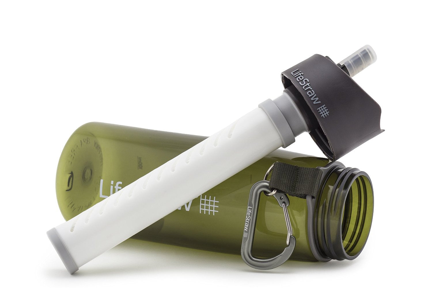 Lifestraw Water Bottle With 2 Stage Filtration Green - Ayudh Sports LLP  - 2