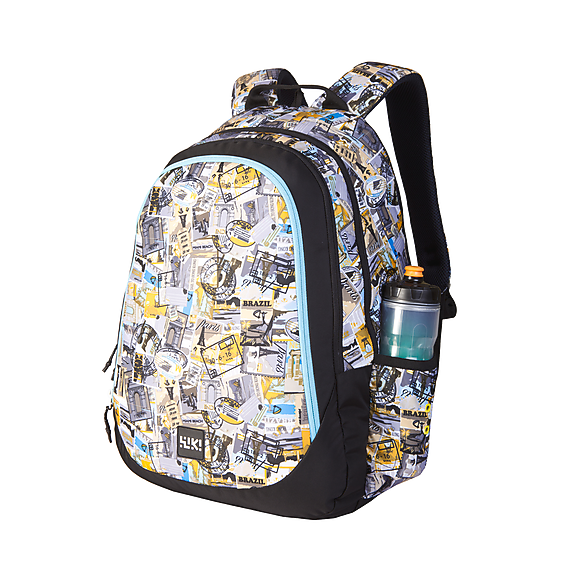 Wildcraft Wiki 6 Stamp Gold School Bag