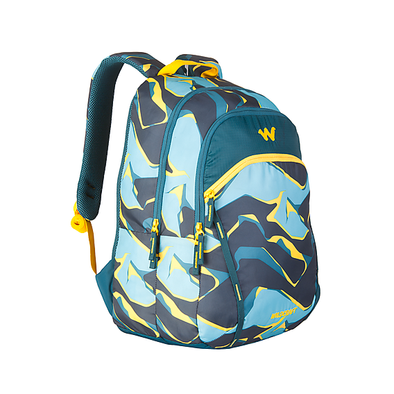 Wildcraft WC 2 Pablo Turquoise School Bag