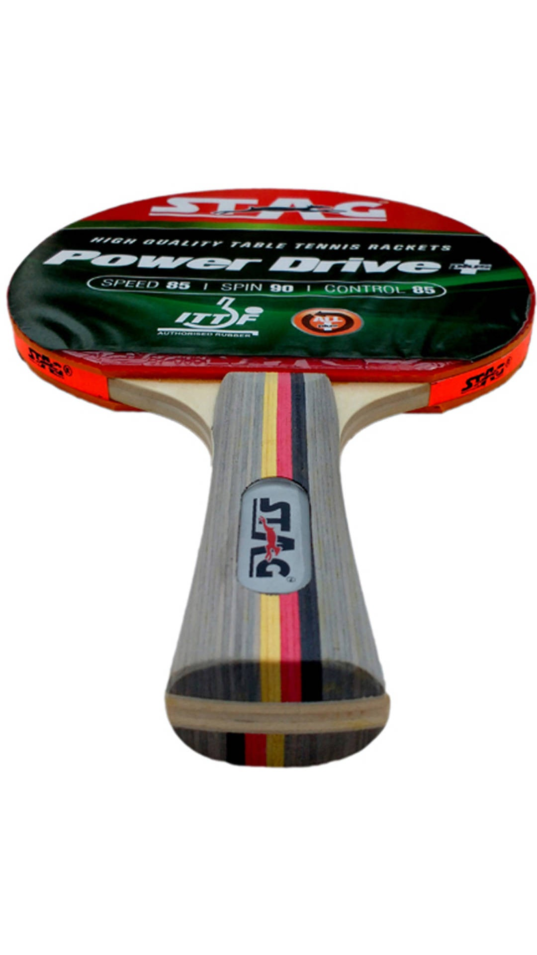 Stag Power Drive Table Tennis Racquet with Case - Ayudh Sports LLP  - 3