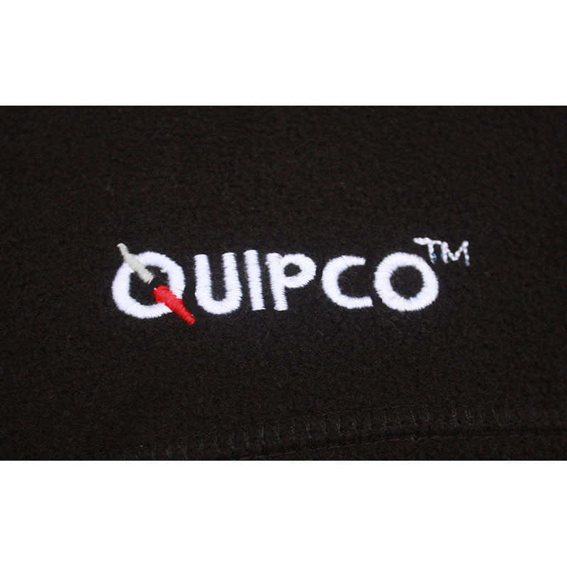 Quipco Tundra Fleece Pullover Jacket - Black (Size Options Available) - Ayudh Sports LLP  - 3