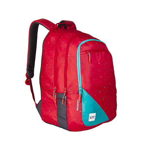 Wildcraft Wiki 7 Spray Red Laptop Bag