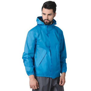 Wildcraft Rain Jacket_B Plus Light Blue