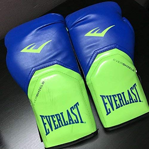 Everlast Pro Style Elite Training Gloves 1200158 (Blue/Green)