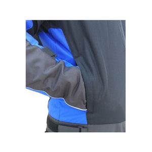 MOTOTECH Scrambler AIR Motorcycle Jacket - Combo Colors - Blue