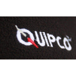Quipco Tundra Fleece Pullover Jacket - Black (Size Options Available) - Ayudh Sports LLP  - 4