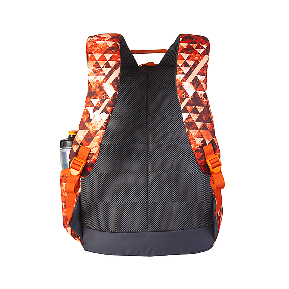 Wildcraft Wc 1 Geo Camo Orange School Bag