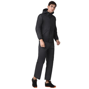 Wildcraft Rain Cheater Suit B Plus Dark Grey