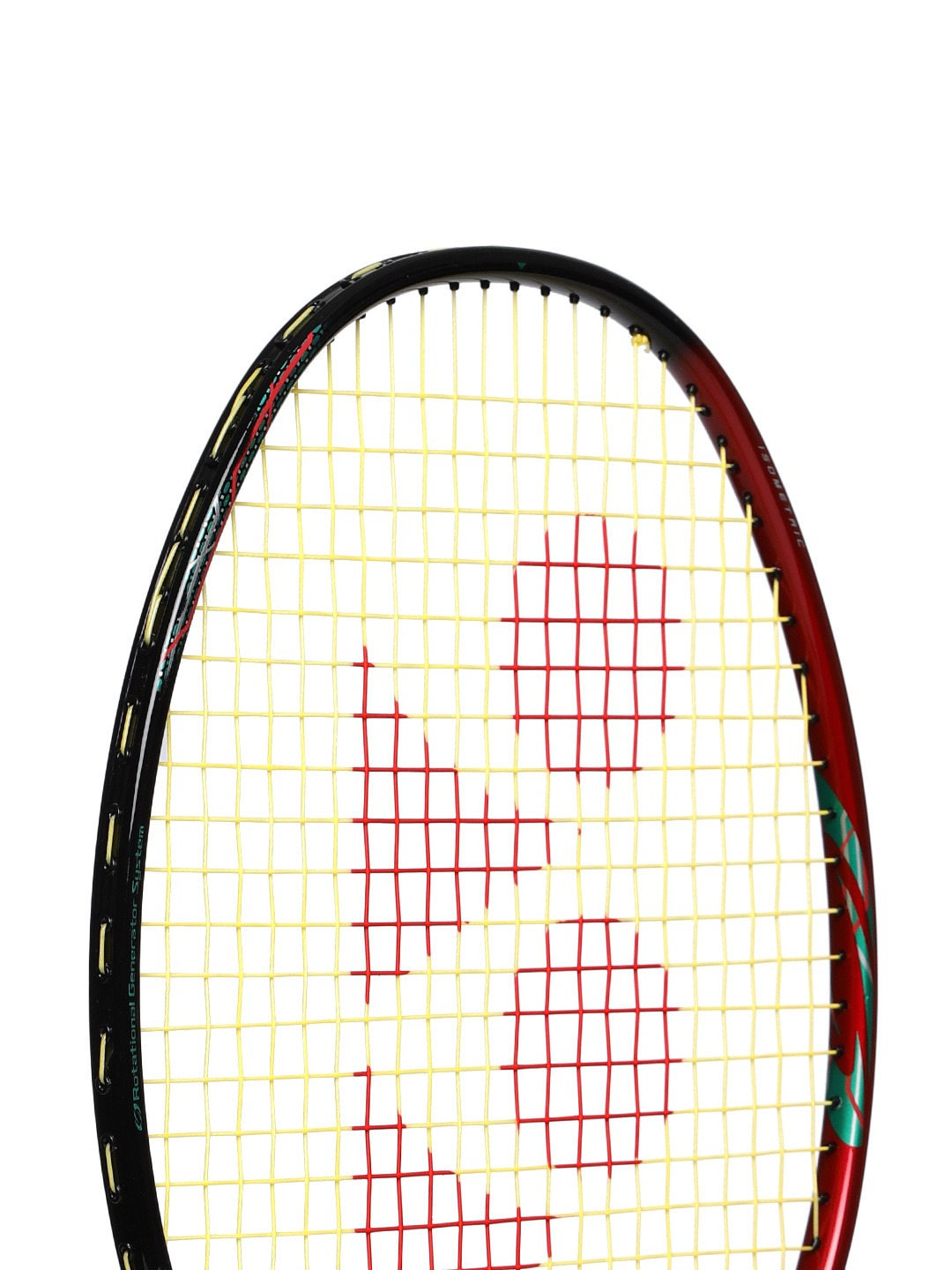 Yonex Astrox38D Badminton Racquet Black/Red/Green