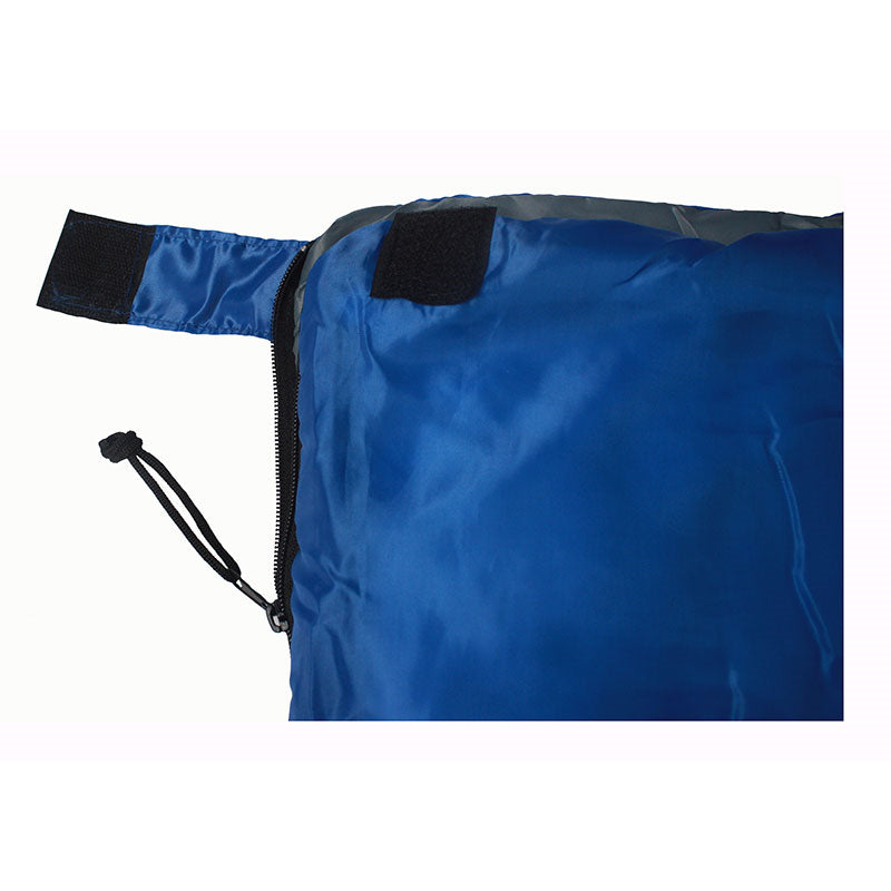 Quipco Sirocco 20 Sleeping Bag Blue - Ayudh Sports LLP  - 4