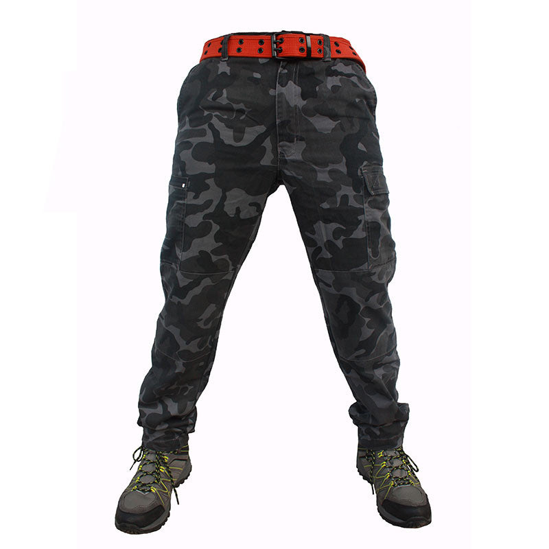 Quipco Ranger Grey Camouflage Trek Pants (Size Options Available) - Ayudh Sports LLP  - 1