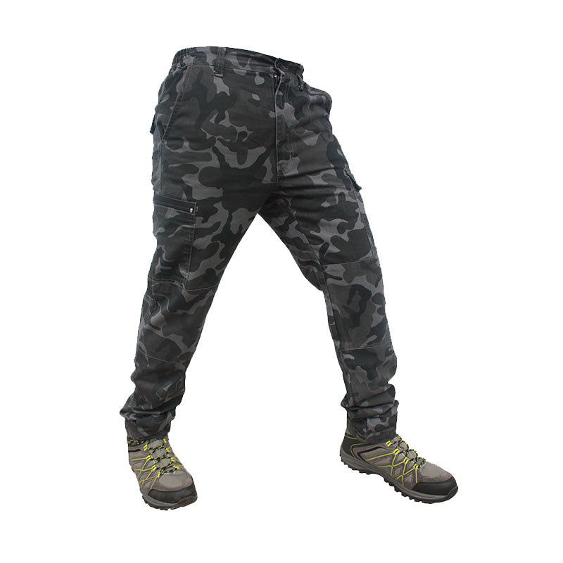 Quipco Ranger Grey Camouflage Trek Pants (Size Options Available) - Ayudh Sports LLP  - 3