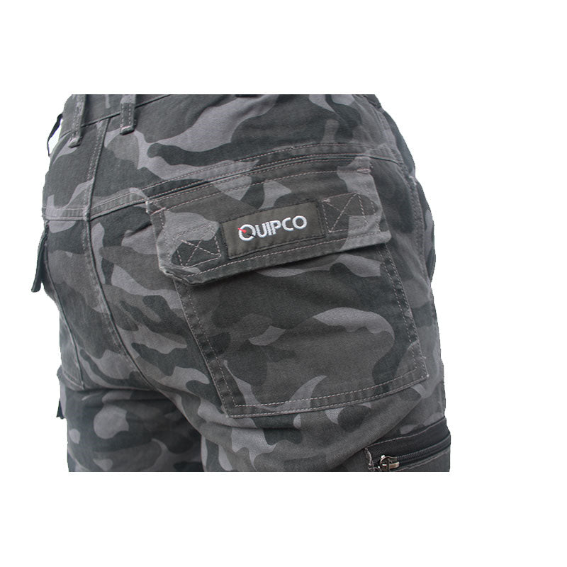 Quipco Ranger Grey Camouflage Trek Pants (Size Options Available) - Ayudh Sports LLP  - 5