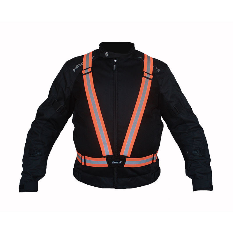 QuipCo Flash Hi-Viz Suspenders - Orange