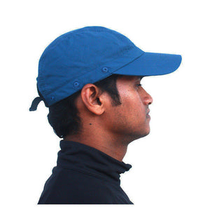 QuipCo Explorer Anti UV Cap - color Blue