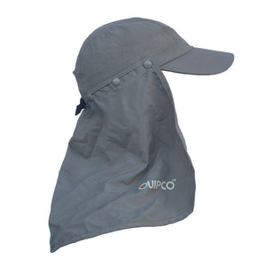 QuipCo Explorer Anti UV Cap - color Gun Metal