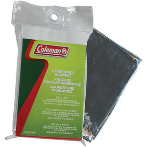 Coleman Emergency Blanket, 53 x 82 inch