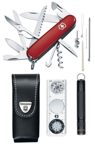 Victorinox 1.8726 Traveller Swiss Army Knife (Red) - Ayudh Sports LLP