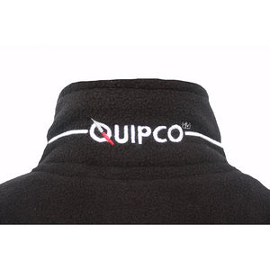 Quipco Tundra Fleece Pullover Jacket - Black (Size Options Available) - Ayudh Sports LLP  - 8