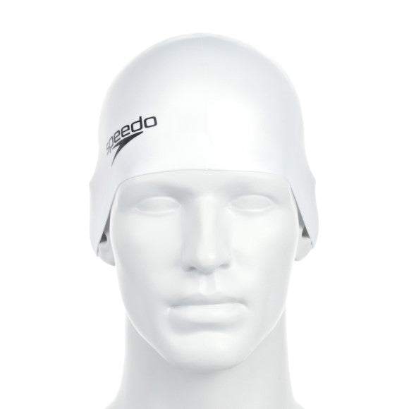Speedo Plain Flat Silicone Swimming Cap
