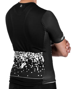 Apace 2018 Breakaway Race Fit Cycling Jersey - Mens - Pixel