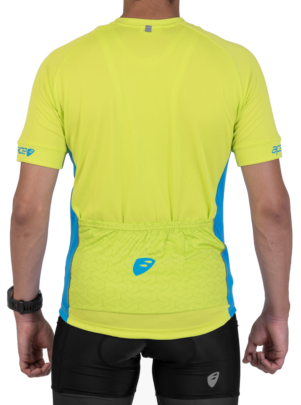Apace 2018 Chase Pro Fit Cycling Jersey - Mens - Lime Green